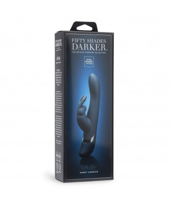 Fifty Shades Darker Вибратор Oh My USB Rechargeable Rabbit Vibrator, 25 см