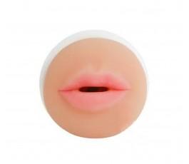 Мастурбатор Cyberskin Vulcan Mouth Stroker от Topco Sales, 16 см