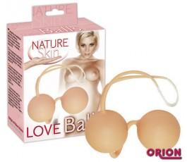 Вагинальные шарики Nature Skin - Orion, 24 см