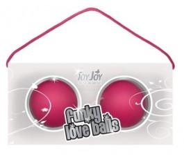 Вагинальные шарики Funky Love Balls, розовые