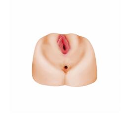 Реалистичная вагина с анусом Satisfaction Sunshine - Lola Toys