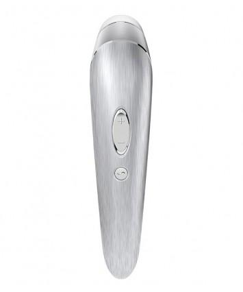 Клиторальный стимулятор с вакуумным воздействием и вибрацией Satisfyer Luxury High Fashion