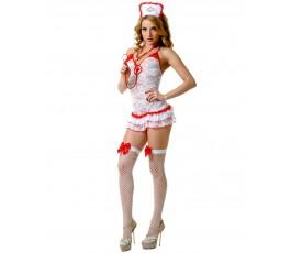 Кружевной костюм соблазнительной медсестры (Le Frivole)