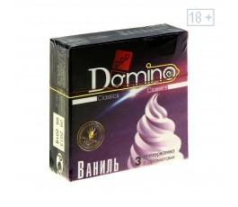 Ароматизированные презервативы DOMINO Ваниль, 3 шт.