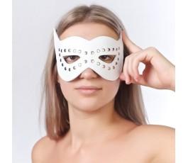 Кожаная маска на глаза