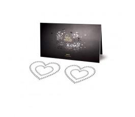 Наклейки на грудь в виде сердечек Mimi Heart - Bijoux