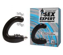 Массажер простаты Sex Expert 15 см.