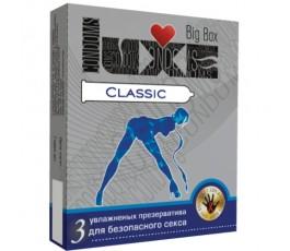 Презервативы LUXE Big Box Classic, 3 шт.