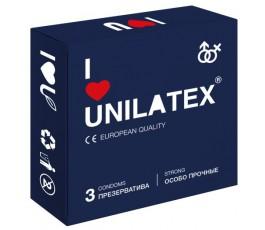 Презервативы Unilatex Extra Strong, 3 шт.