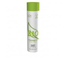 Массажное масло с ароматом алоэ вера - Hot Bio, 100 мл