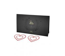 Накладки на соски Miami Heart (Bijoux Indiscrets)