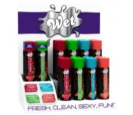 Набор смазок Wet Fun Flavors Countertop16шт+ тестеры