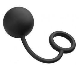 Анальный шарик с эрекционным кольцом Tom of Finland, 5.7 см