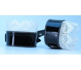 Изысканные наручники с кружевом BDSM Light