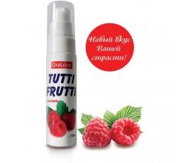 Оральный лубрикант на водной основе с ароматом малины Oralove Tutti-Frutti - Биоритм, 30 мл