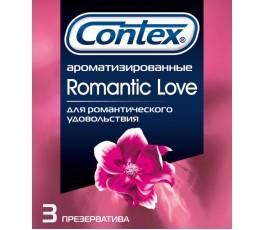 Презервативы Contex Romantic Love (3шт)