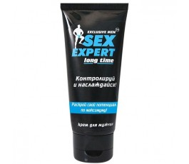 Крем-пролонгатор мужской Sex Expert Long Time - Биоритм, 40 мл