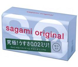 Презервативы полиуретановые Sagami №12 Original 0,02