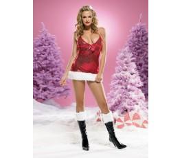Новогоднее мини-платье - Leg Avenue