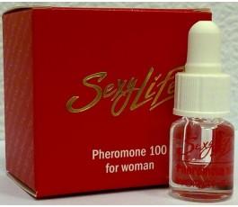Концентрат феромонов «Sexy life» женский Pheromone 100%