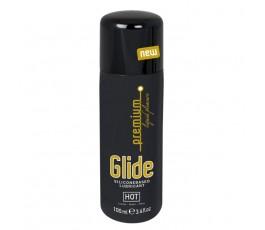 Лубрикант на силиконовой основе Glide Премиум - Hot, 100 мл