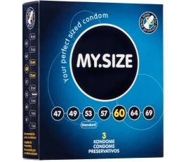 Презервативы MY.SIZE размер 6 см, 3 шт.