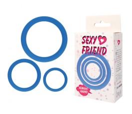 Кольца эрекционные Sexy Friend, 5 см