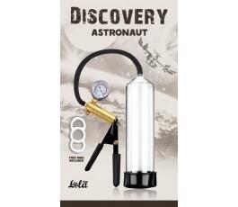 Вакуумная помпа с манометром Discovery Astronaut