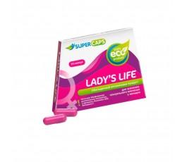 Женские возбуждающие капсулы Lady's Life - Supercaps