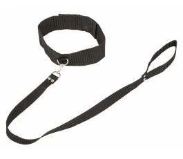Ошейник Bondage Collection Collar and Leash - Lola (Plus Size)