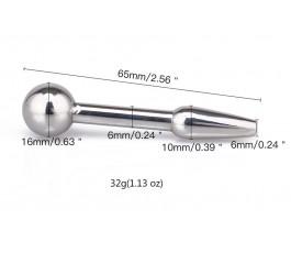 Стимулятор уретральный от Notabu, 6.5 см
