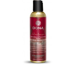 Вкусовое массажное масло Dona Kissable Massage Oil, 110  мл
