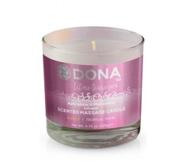 Массажная свеча Dona Scented Massage Candle Sassy Aroma: Tropical Tease, 135 г