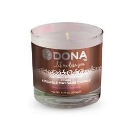 Вкусовая массажная свеча Kissable Massage Candle, 135 г