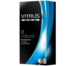 Презервативы Natural - Vitalis, 12 шт