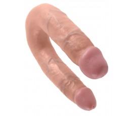 Двухсторонний фаллоимитатор Cock Double Trouble M (Pipedream) -35 см