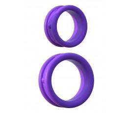Набор из 2-х эрекцонных колец C-Ringz Max Width Silicone Rings, 3.5 см и 2.8 см