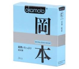 Презервативы OKAMOTO Skinless Skin, 3 шт.