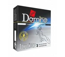 Тончайшие презервативы DOMINO, 3 шт.