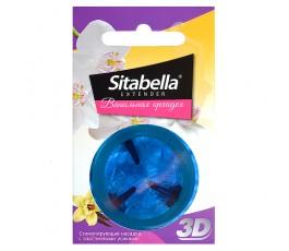 Насадка стимулирующая - презерватив Sitabella Extender Ванильная орхидея от СК-Визит