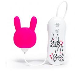 Вибратор клиторальный Purple Bunny, 7 см - Tokidoki