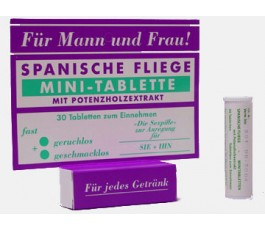 Продукт для мужчин и женщин Spanische Fliege Minitabletten